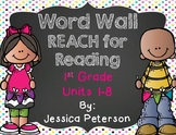 Reach for Reading National Geographic Reading Series: 1st Grade Sight Word Wall