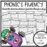 Reading Fluency Packet