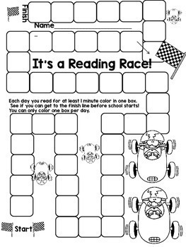 Summer Reading Fluency Packet to Practice Phonics