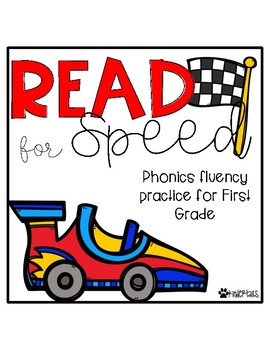 Read for Speed {First Grade Phonics Fluency} #taxespaid17