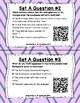 Read for Understanding QR Code Task Cards Set 1 IREAD Practice