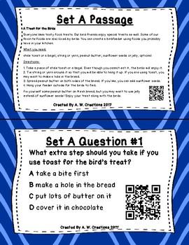 Read for Understanding QR Code Task Cards Set 2 IREAD PHONICS
