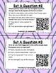 Read for Understanding QR Code Task Cards Sets 1 to 3 IREAD Practice BUNDLE