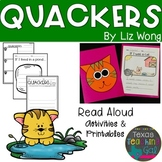 Quackers Read Aloud Printables Activities