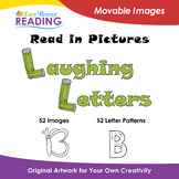 f. Read in Pictures:ART Laughing Letters Movable Images