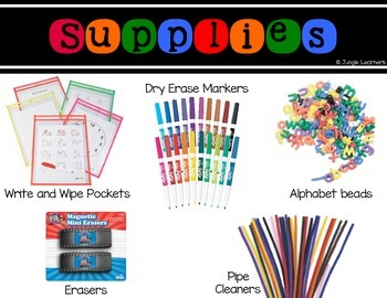 Sight Words 1st Grade: Read, Bead, Type & Wipe