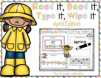 https://www.teacherspayteachers.com/Product/Read-it-Bead-it-Type-it-Wipe-it-April-Edition-1792568