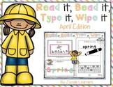 Read it, Bead it, Type it, Wipe it [April Edition]