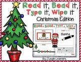Read it, Bead it, Type it, Wipe it [Christmas Edition]