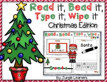 Read it, Bead it, Type it, Wipe it [Christmas Edition]