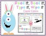 Read it, Bead it, Type it, Wipe it [Easter Edition]