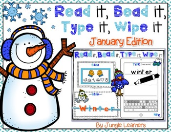 Read it, Bead it, Type it, Wipe it [January Edition]