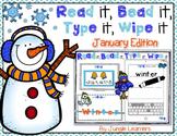 Read it, Bead it, Type it, Wipe it [January Edition]