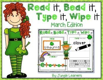 Read it, Bead it, Type it, Wipe it [March Edition]