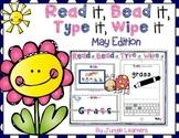 Read it, Bead it, Type it, Wipe it [May Edition]