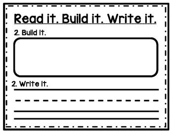 Read it. Build it. Write it.