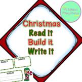 Read it, Build it, Write it (Christmas)
