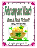 Read it, Fix-it, Picture it {February and March edition}
