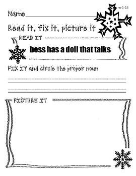 Read it, Fix it, Picture it (Winter Edition)