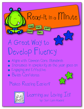 """Read-it In a Minute!"" - Developing Fluency with Words"
