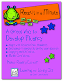 """""""Read-it In a Minute!"""" - Developing Fluency with Words"""