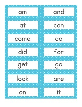 Read it Stamp it Write it Sight Words Activity