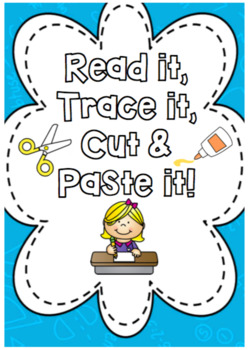 Read it, Trace it, Cut & Paste It *HIGH FREQUENCY WORDS* FULLY EDITABLE
