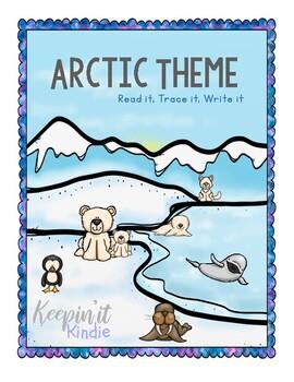 Read it, Trace it, Write it (Arctic Themed)