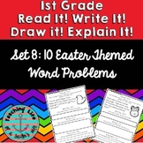 Read it! Write it! Draw it! Solve it! Word Problems Set 8: Easter Edition