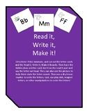 Read it, Write it, Make it