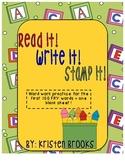 Read it! Write it! Stamp it!