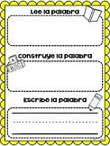 Read it, build it, write it in Spanish literacy centers