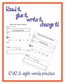 Read it, glue it, write it, change it!