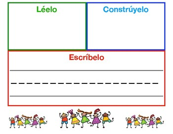 Read it, write it, build it Spanish Reading Intervention