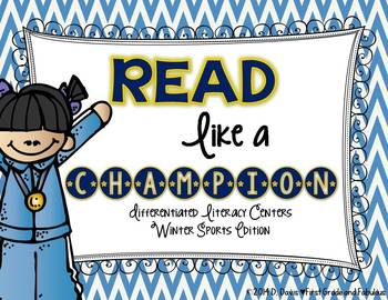 Read like a Champion--Winter Sports Phonics Stations
