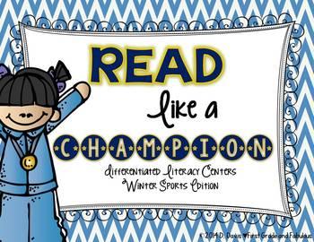 Read like a Champion--Winter Sports Phonics Stations