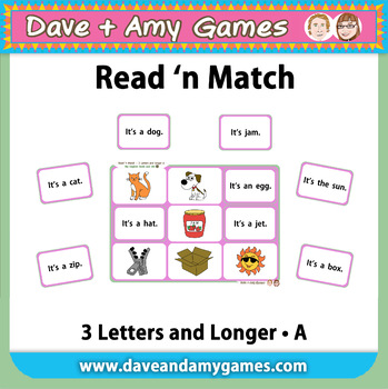 Read 'n Match 3 Letters A: My English Book and Me 4