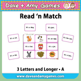 Read 'n Match: CVC Phonics A