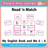 Read 'n Match: My English Book and Me 6 A