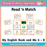 Read 'n Match: My English Book and Me 6 B