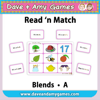 Read 'n Match: Blends A