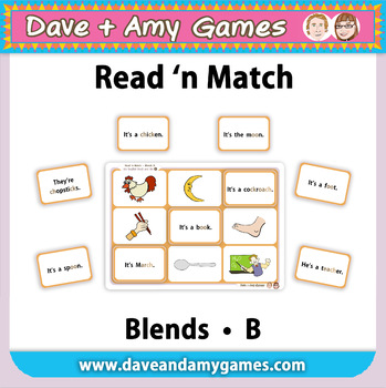 Read 'n Match: Blends B