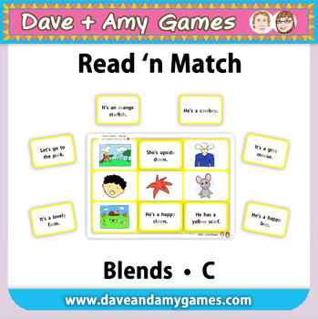 Read 'n Match: Blends C