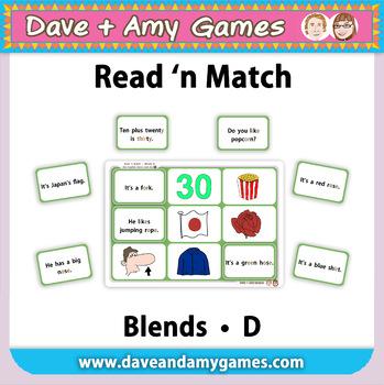 Read 'n Match: Blends D
