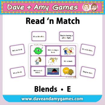 Read 'n Match: Blends E