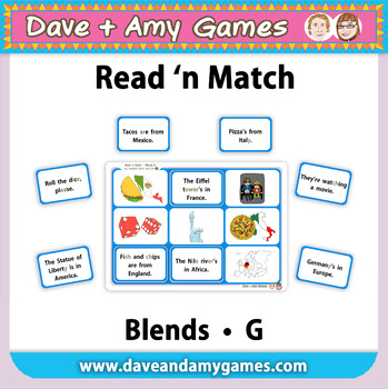 Read 'n Match: Blends G