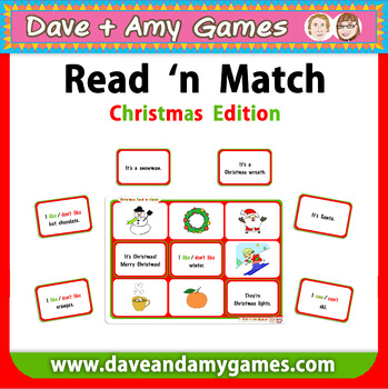 Read 'n Match - Christmas Edition