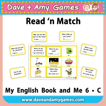 Read 'n Match: My English Book and Me 6 C