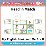Read 'n Match: My English Book and Me 6 D