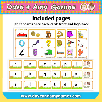 Read 'n Match: ABC Phonics B